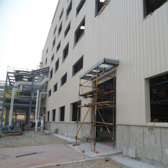 1000m2 Two Story Steel Structure Warehouse