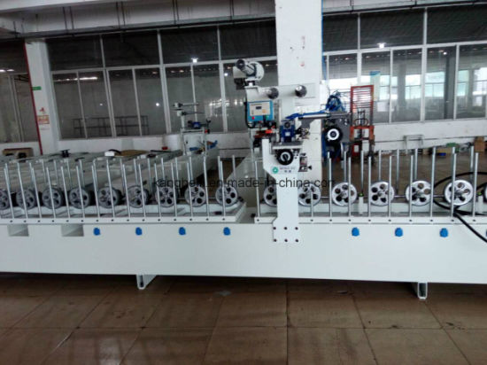 China Pur Laminating Indoor Decorative Woodworking Machine Manufacturer pictures & photos