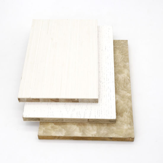 Furniture Melamine Faced Paulownia Wood Blockboard pictures & photos