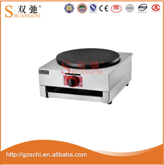Commercial Gas Crepe Maker Gas Stove Pancake Kitchen Equipment pictures & photos