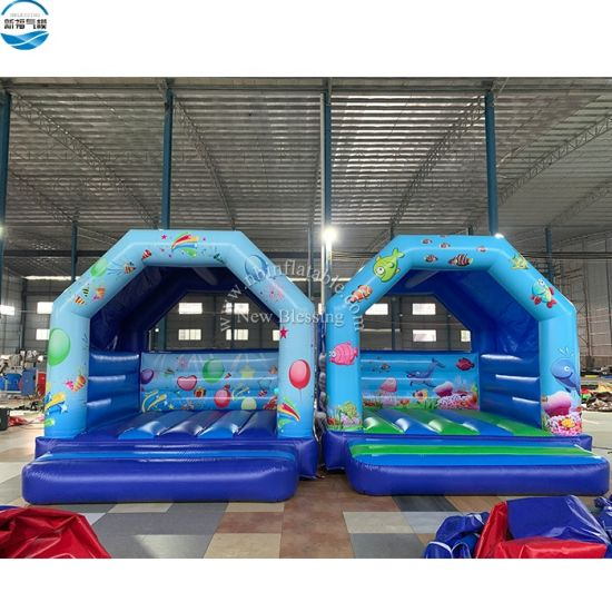 Festival Celebrations Air Bouncer Inflatable Trampoline, Inflatable Custom Bounce House for Party pictures & photos