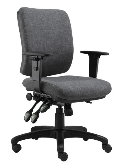 Low Back Nylon Base Fabric Computer Office Chair