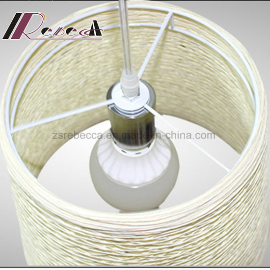 Modern Matt-White Rattan Pendant Lamp for Decoration pictures & photos