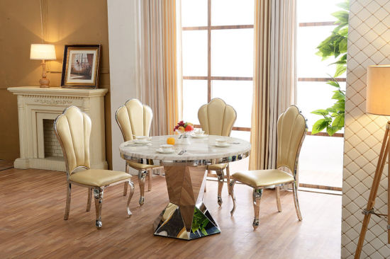 Home Furniture Italian Marble Dining Table Used Room For Sale