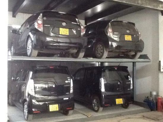 Power Coating Simple Pit Car Auto Parking System