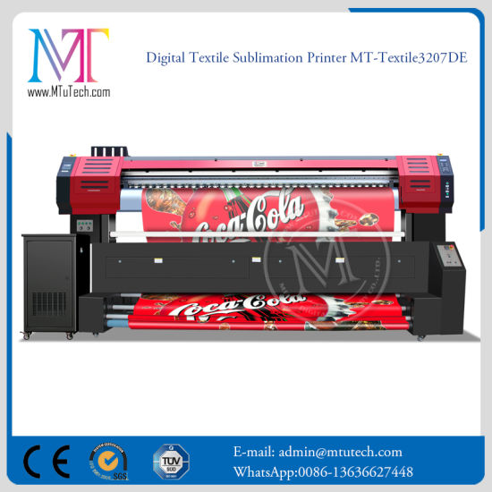 1.8m/2.2m Reactive Textile Printer for Fabric Direct Printing