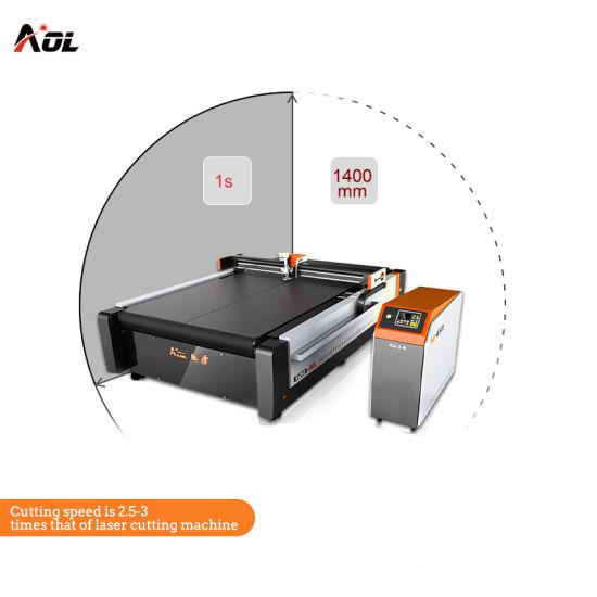 Automatic CNC Knife Cardboard Box Sample Die Cutting Machine
