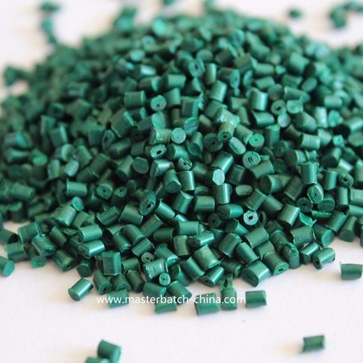 Good Dispersing Green Plastic Granules for Plastic Pipe, Home Appliances