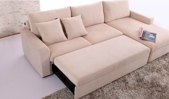 New Design Divan Living Room Furniture Chaise Lounge Sofa Bed