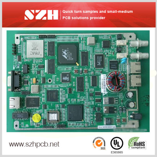 China High-Density Multilayer PCB with HASL Surface Finish - China
