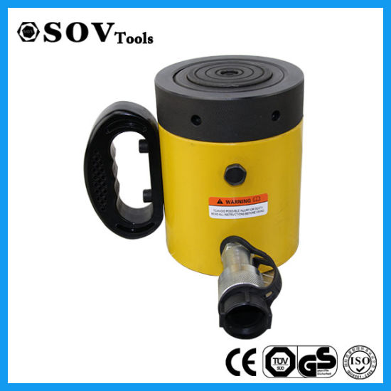 Single Acting Safety Lock Nut Jack Cylinder for Construction (SOV-CLL) pictures & photos