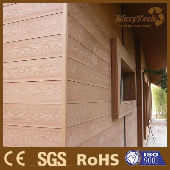 Outdoor Wood Plastic Composite WPC Wall Panel WPC Exterior Wall Cladding pictures & photos