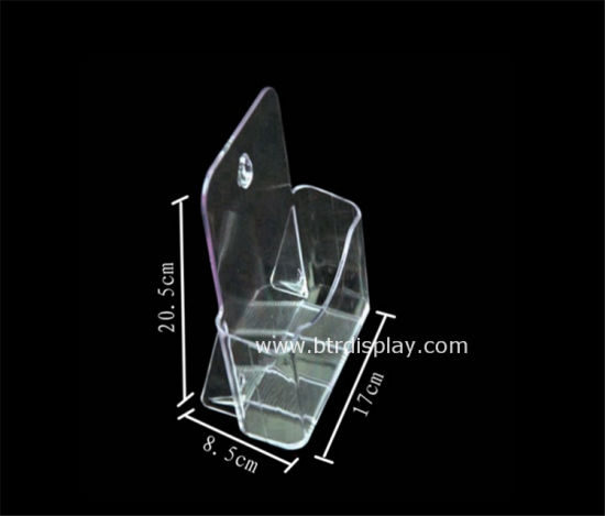 Clear Acrylic A5 Tires Brochure Stand Manufacturer Btr-6305-3