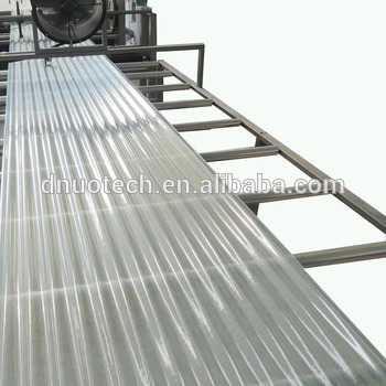 FRP High Gloss Sunlight Panel Automatic Making Machine