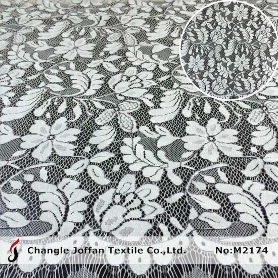 Wedding Dress Swiss Voile Lace Fabric Fashion Stretch Lace (M2174)