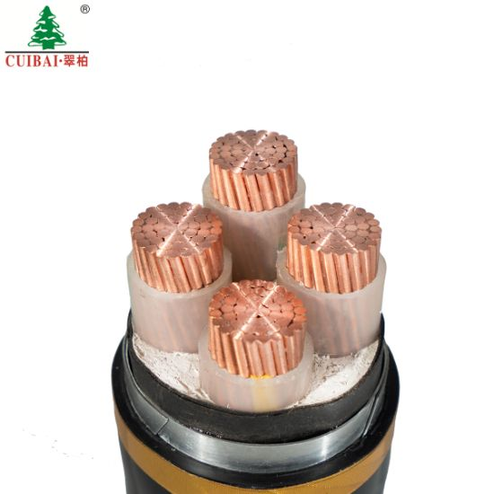 Yjlv22 Underground Copper Aluminum Mica Tape Low Voltage Rated LV Fire-Proof Resistant Steel Armored/Unarmoured XLPE Insulation Sheathed Earth Wire Power Cable