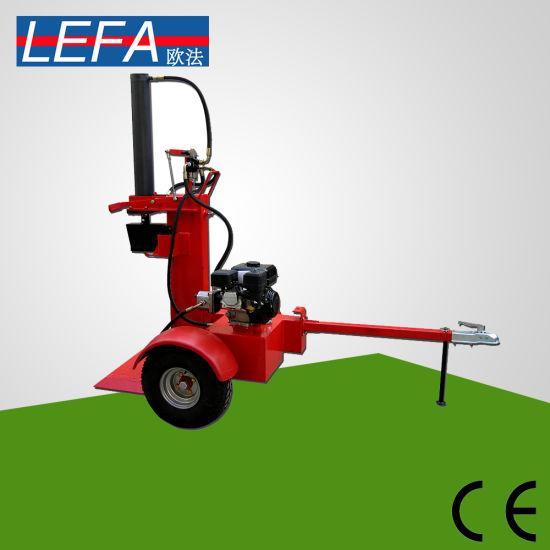 china 15 ton wood slitting machine gasoline log splitter lf 15t