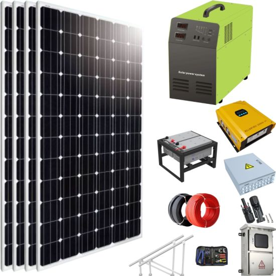 China M Solar Home Lighting System