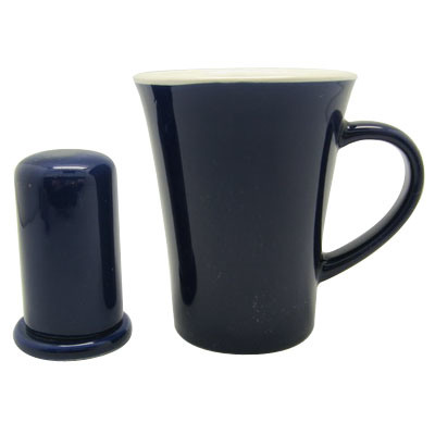 12oz Ceramic Mug Toothpick Jar Combination