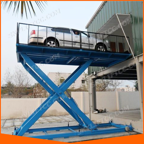 China Car Hoist Vertical Platform Lift Hydraulic Scissor Lifts