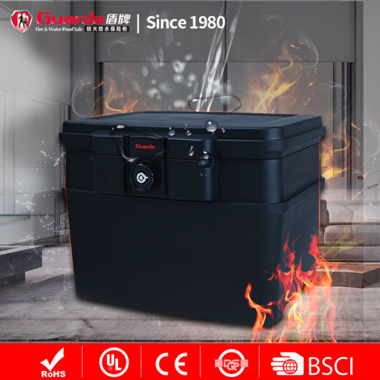 Security Cheapoffice A4 Size Document Water Fireproof Safe Box 0.62cuft