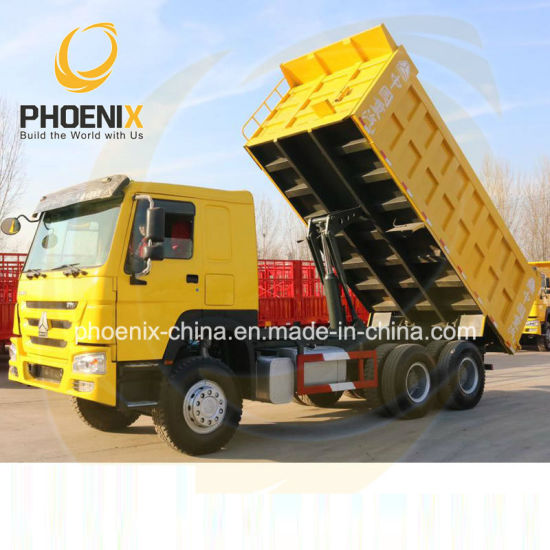 Hot Sales 371horse Power 20cbm LHD 6*4 10tires Sinotruk Second Hand HOWO Used Dumping Truck with Strong Quality for Africa Sale