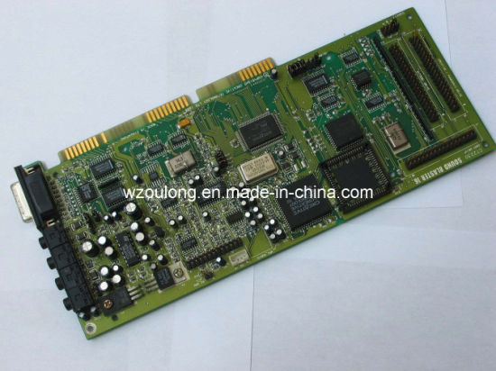 Copper Printed Circuit Boards with RoHS (OLDQ-024)
