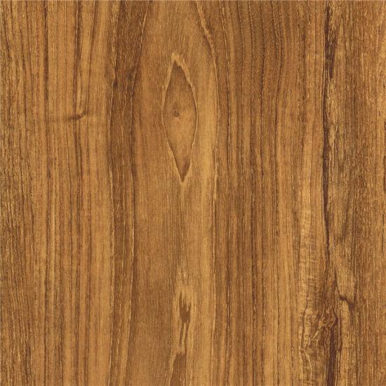 Teak Wood Grain Melamine Paper For Laminated Floor, Furniture, MDF Board