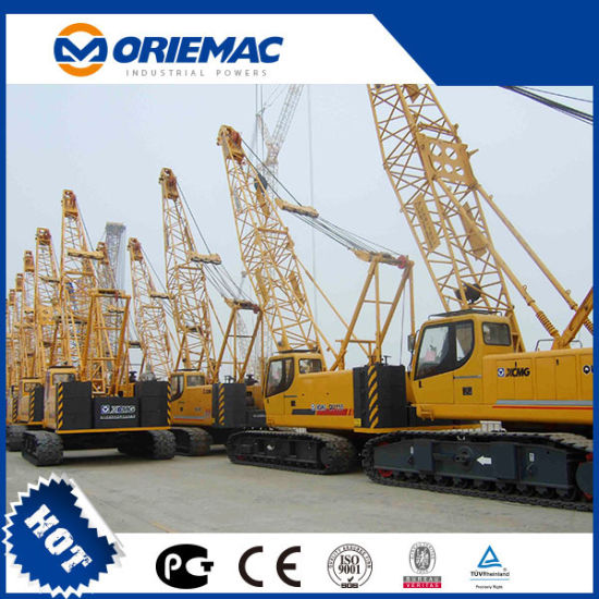 New XCMG Crawler Crane 55ton Xgc55 Lattice Boom Crawler Crane