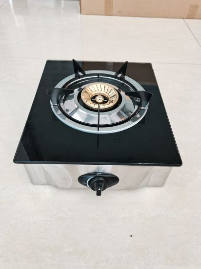 Besse Cheap Kitchen Supplies Glass Gas Stove Gas Cooker With 1 Burner Zg 1010 China Gas Stove And Single Burner Price Made In China Com