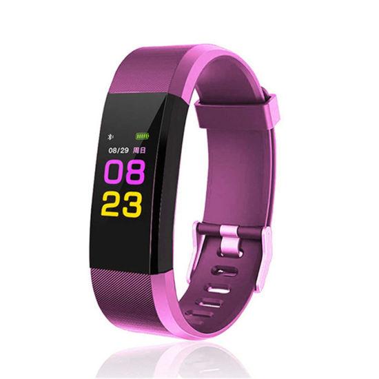 China Smart Waterproof Band Wristband ID115 Plus Bracelet
