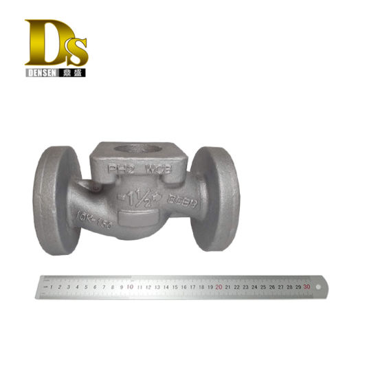 Densen Customized Water Glass Casting Control Valve Body for Iflow Control