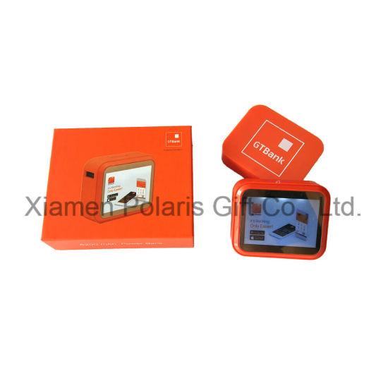 Custom Portable Large Capacity LED Screen Light Mobile Power Bank