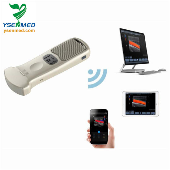 Ysb363 Medical Machine Portable Wireless Handheld Color Ultrasound Unit pictures & photos