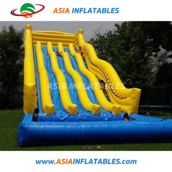 China New Design Big Kahuna Inflatable Water Slide for Sale