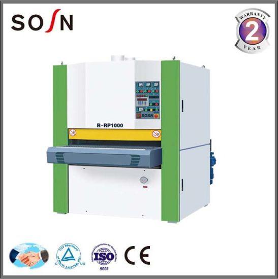China R-RP1300 Wide Belt Sander Heavy Duty Hardwood Floor Sanding in Woodworking Machine