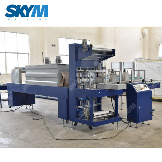 Automatic Plastic Film Heat Shrink Wrapping Machine/Shrink Packing Machine for Pet Water Bottle