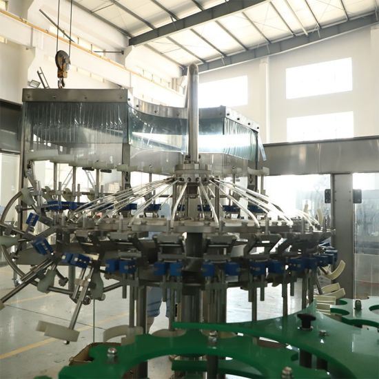 Full Automtic Glass Bottle Beer Liquid Bottling Filling Machine pictures & photos