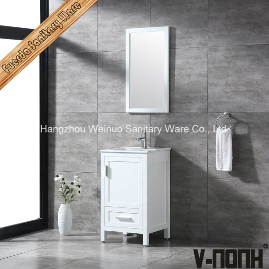 China Modern Solid Wood White Small Bathroom Cabinets For Sale China Furniture For Bathroom Corner Bathroom Vanity