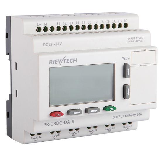 Factory Price for Programmable Logic Controller HMI PLC (Programmable Relay PR-18DC-DA-R-HMI)