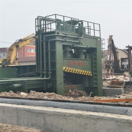 Heavy Duty Scrap Iron Aluminum Copper Steel Shearing Cutting Machine Q91-5000 Guillotine Shear