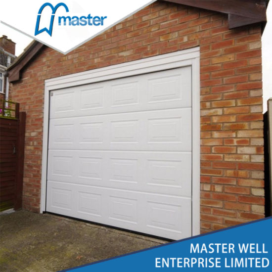 China Color Steel Sectional Automatic Used Garage Doors Sale China