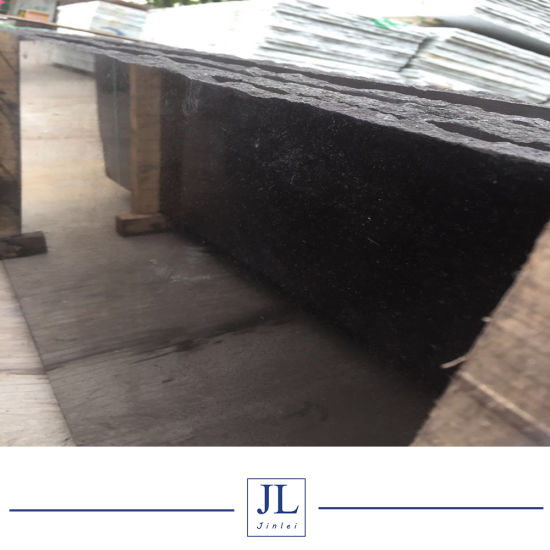 Cheap Granite Polished Dyed Nero Assoluto Red Black Granite Machine Paving Slabs Tiles