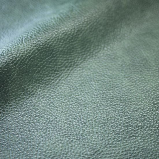 Manufacturer Embossed Feel Good Antique Color PU Synthetic Leather