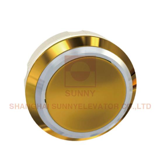 Elevator Round Button with Titanium (SN-PB22T)