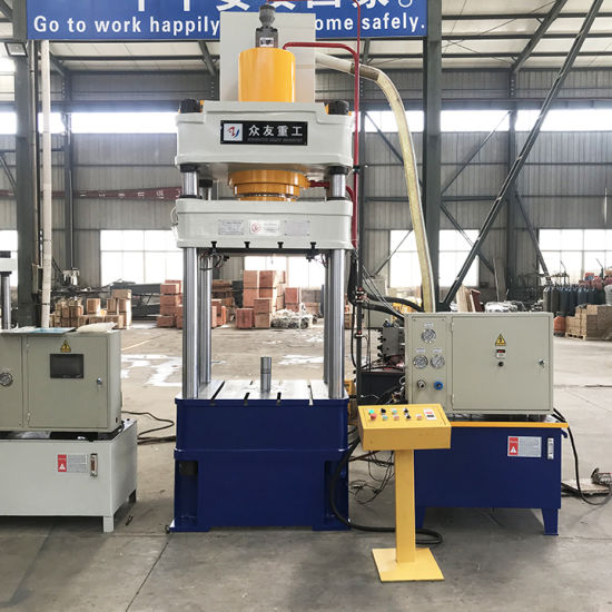 Best Price Used 500 Ton 4 Pillar Cold Forming Hydraulic Press Machine for  Sale