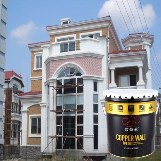 Long Durability Super Adhesion External Wall Lacquer Paint