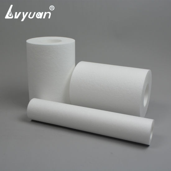 Sediment PP Water Filter Cartridge 5 Micron with Jumbo Size Diameter of 110-115 pictures & photos