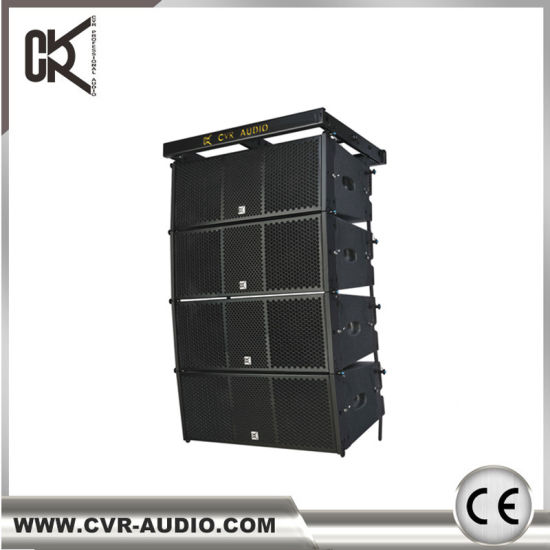 Professional Digital Audio Line Array System Dual 10 Inch Active Line Array