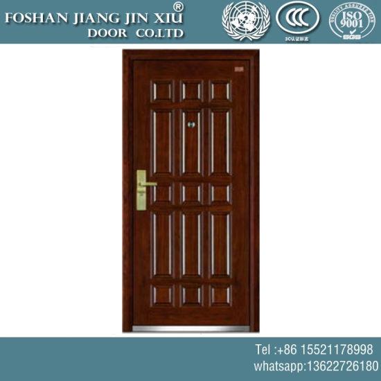 China Mdf Steel Plastic Interior Timber Fire Door China Steel Door